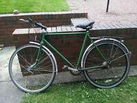 Nice green bike