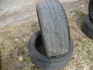 two 225-40-17 tires $90.00