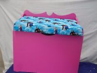 FOR SALE Handmade TOY BOX FROZEN as the theme a good idea for a christmas present