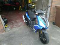 Ajs125cc moped