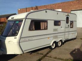 twin axle caravan spares 5 berth delta500