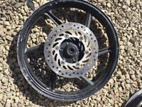 Cbf 125 wheels