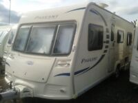 Bailey Peagent 7 caravan. Excellent condition throughout.4/5 berth with fixed double bed ensuit
