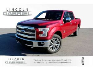 2016 Ford F-150 KING RANCH+4WD+NAVI+CAMERA+TOIT PANO
