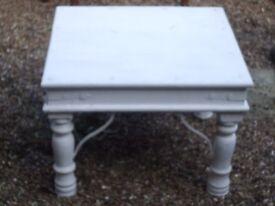 Heavy White Table