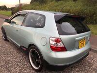 2005 Honda Civic 1.7 cdti turbo diesel 3dr hatch