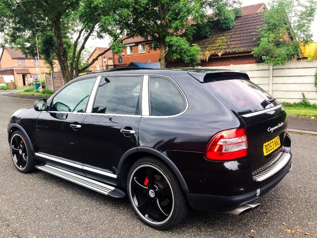 2003 53 plate porsche cayenne 4 5 v8 turbo auto tech art 450 bhp one off in ardwick. Black Bedroom Furniture Sets. Home Design Ideas