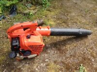 Tanaka, powerful commercial grade leafblower, barely used, robust design