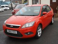 11/60 Ford Focus Zetec 1.6TDCi Diesel 5dr, Red.**£30 Road Tax, New Timing Belt/Water Pump, 2 Owners*