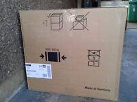 NEFF glass conopy chimney cooker hood 600mm,.
