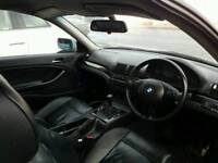 NEW IN FOR BREAKING BMW E46 3 SERIES BLUE COUPE BLACK LEATHER SEATS