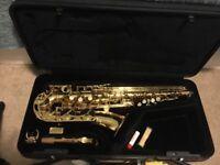 Yamaha alto saxophone YAS275 bundle
