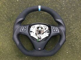 BMW M3 M-PERFORMANCE INDIVIDUAL EXTRA THICK STEERING WHEEL