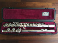 RARE YAMAHA 211s2 211s11 SILVER FLUTE & HARD CASE LOVELY CONDITION