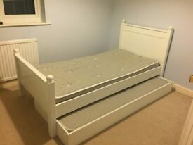 An A SPACE child's single bed