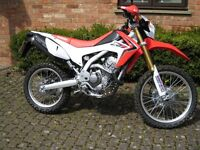 2014 Honda CRF250L. Excellent condition. Main dealer serviced. MOT to 2/3/18. 1 Owner