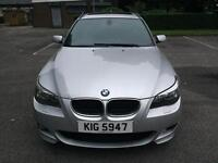 2005 BMW 525d M Sport Estate Automatic, panoramic sunroof, leather, hpi clear