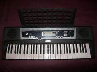 Yamaha YPT210 , YPT 210 61 Keys Keyboard Arranger with 375 Instrument Voices , Drum Kits , MIDI.