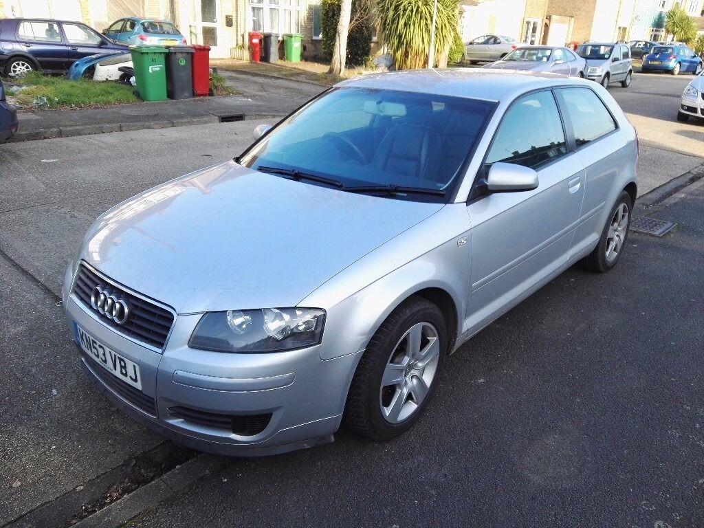 silver petrol audi a3 2003 not fsi engine in colnbrook berkshire gumtree. Black Bedroom Furniture Sets. Home Design Ideas