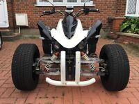 Road Legal Quad Bike Jinling 250cc White/Black Ready to Drive **BARGAIN**