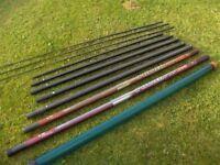 Daiwa Fishing Pole + 3 Match Kits