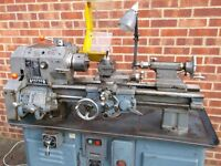FOR SALE BOXFORD AUD SCREW CUTTING LATHE WITH INVERTER