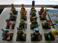 Lego minifigures series 1 simpsons