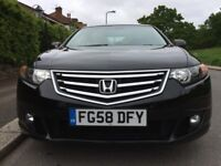 2008 58 FACELIFT HONDA ACCORD 2.0 EX VTEC PETROL MANUAL 139K SERVICE HISTORY TOP SPEC CAR HPI CLEAR
