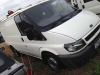 Ford transit van non running for spares or repair