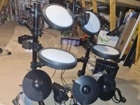 Rockjam 8 Piece Drum Set & Amp