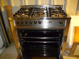 lofr range 5 burner range cooker