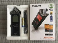 TASCAM DR-22WL Brand New Never Opened Linear PCM Recorder with Wi-Fi