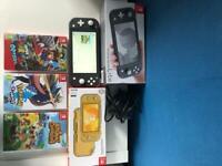 Nintendo Switch Lite & Games