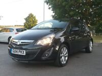 VAUXHALL CORSA 2014 EXCITE LOW MILEAGE 26,000 MILEAGE ONLY 12 NEW MONTH MOT