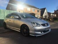 HONDA CIVIC TYPE R 2005 **UPGRADED EXHAUST** ( vxr st gti bmw leon)
