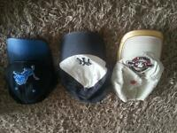 3 X American football / baseball caps