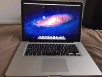 "15"" Macbook Pro - 2011 - 4GB RAM - Good Condition"