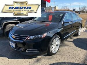 2017 Chevrolet Impala PREMIUM 2LZ/ SAFETY PACKAGE/ LEATHER/ SUNR