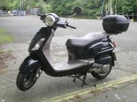 125 cc SYM Scooter Fiddle ll