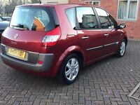 2006 RENAULT MEGANE SCENIC 1.6 VVT DYNAMIQUE | Panoramic Roof | Parking Sensors | 79k Miles