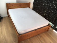 King size bed & mattress - Excellent condition - £150