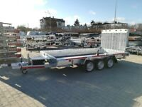DELIVERY 4x1.8x0.3m B3/3 flatbed trailer building equipment transporter