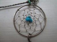 Vintage dreamcatcher pendant