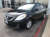 2012 Nissan Versa SL ONE OWNER Local Trade with NAVI