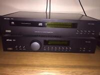 Arcan CD player and Amp
