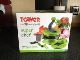 Tower super chef chopper/grater gadget