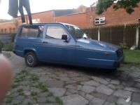 SORRY NOW SOLD reliant rialto 2 for sale