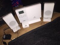Vertical CD micro Hi-Fi with dock for IPod (Stereo)