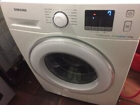 Samsung White eco bubble. ex display..Mint free delivery