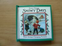 Ernest Nister's Snowy Days with Antique Changing Pictures